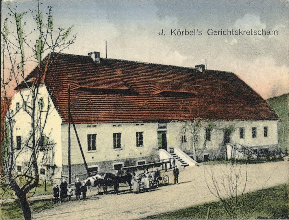 Dippelsdorf- dawna Gospoda, obecnie Świetlica Wiejska