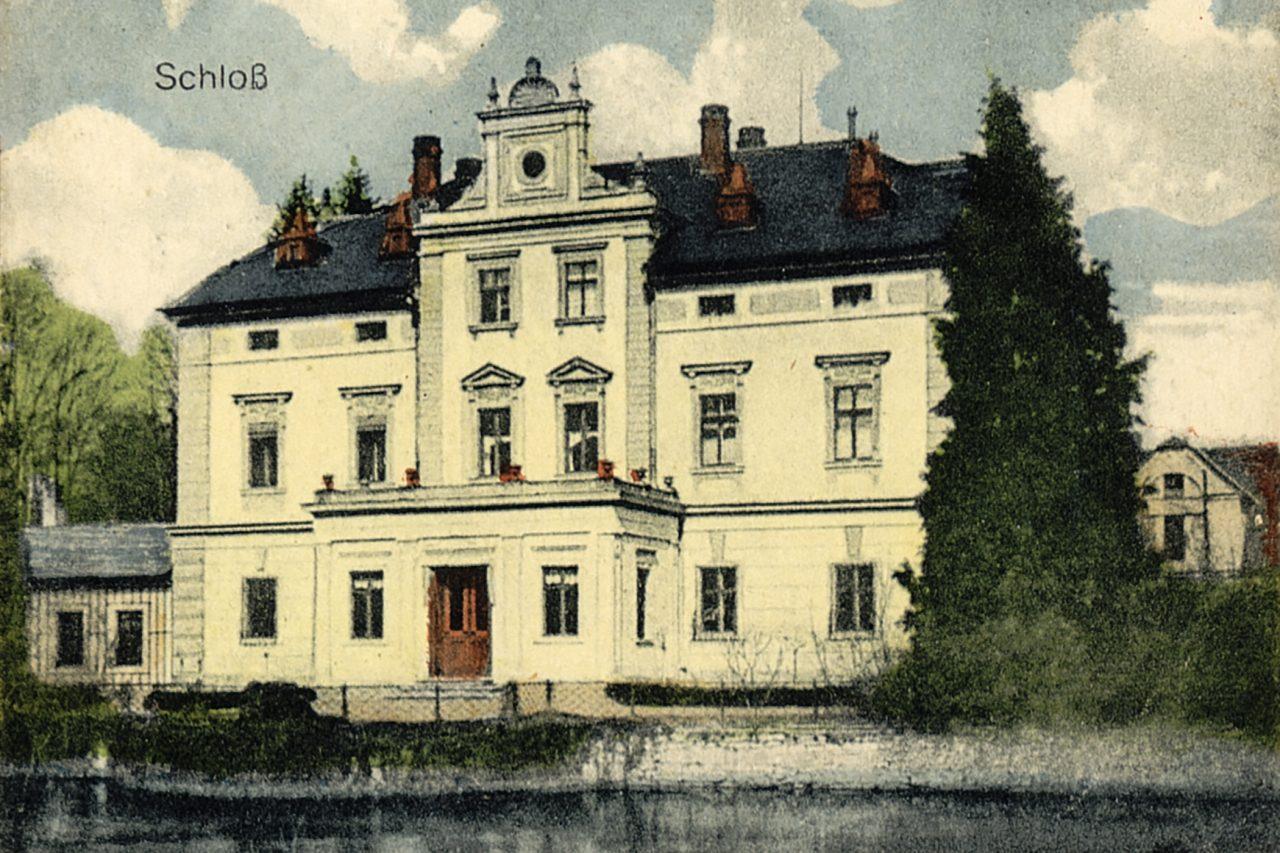 Pałac w Przeździedzy (zbiory prywatne)